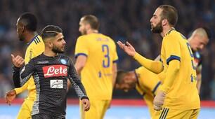Napoli-Juventus, che scintille tra Higuain e Insigne!