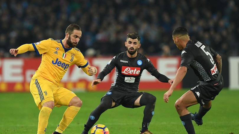 Serie A Napoli-Juventus 0-1, il tabellino
