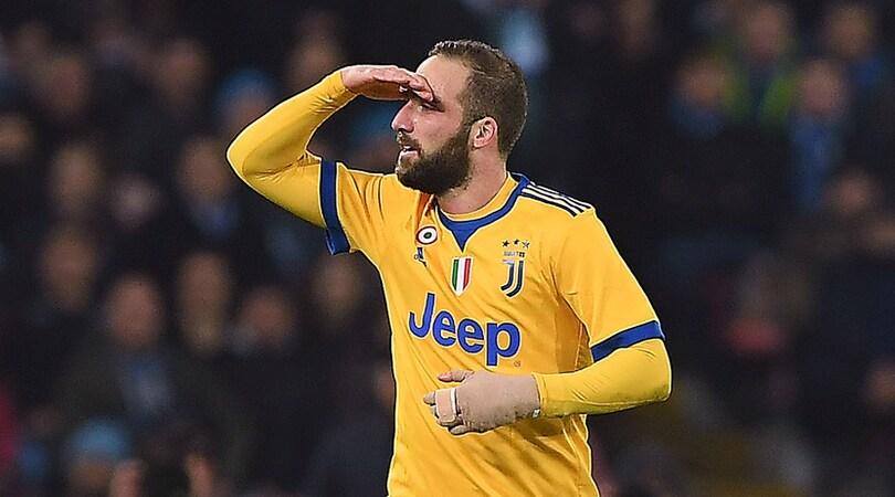 Napoli-Juventus 0-1: Higuain sbanca il San Paolo