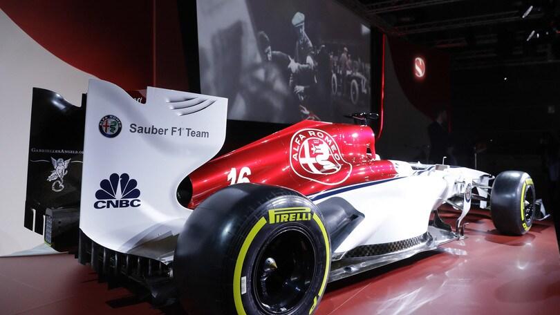F1, la Sauber è pronta a svelare la monoposto