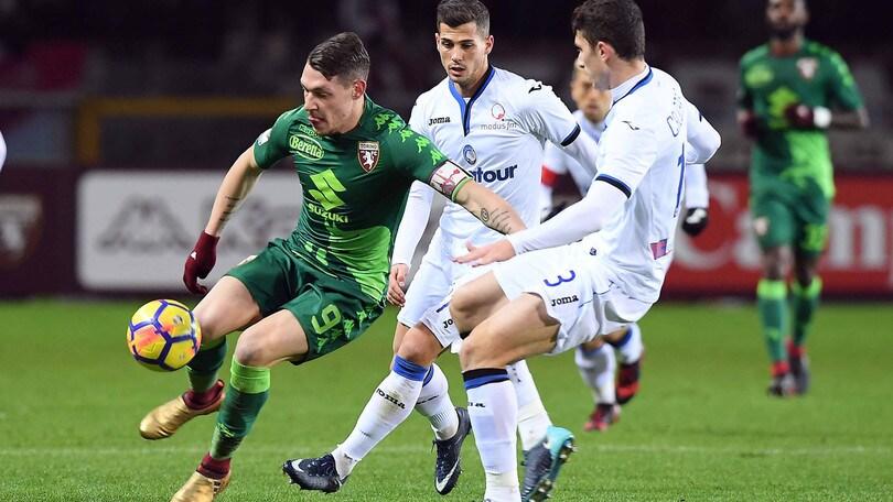 Serie A Torino-Atalanta 1-1, il tabellino