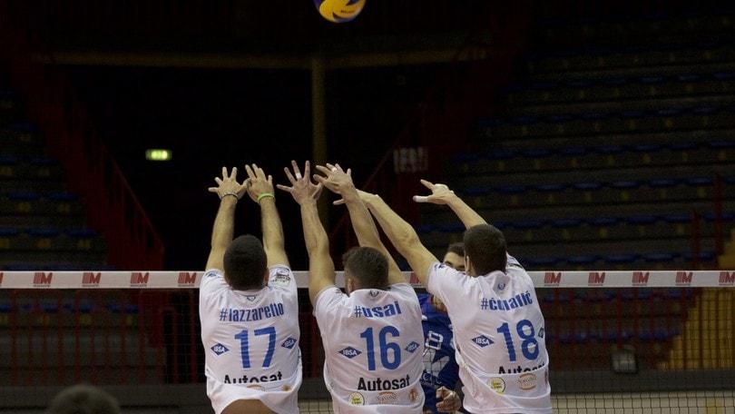 Volley: A2 Maschile, Girone Bianco: vincono Grottazzolina, Catania e Siena