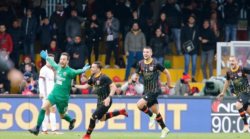 Benevento-Milan 2-2, il portiere Brignoli rovina la prima di Gattuso al 95'