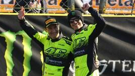MotoGp, Rossi trionfa al Monza Rally Show