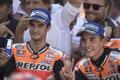 MotoGp, Marquez e Pedrosa: festa a Motegi