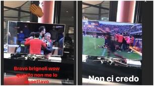 Benevento, anche Balotelli fa i complimenti a Brignoli