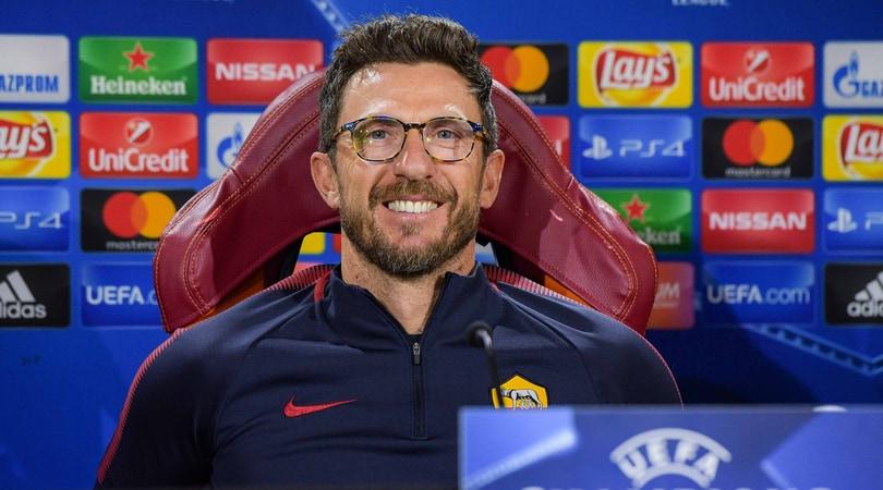 Roma, Di Francesco: «Vorrei giocarmi lo scudetto con l'Inter»