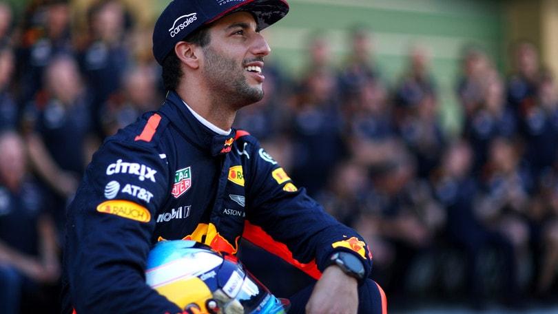 F1, Ricciardo: «Non ho fretta di rinnovare»