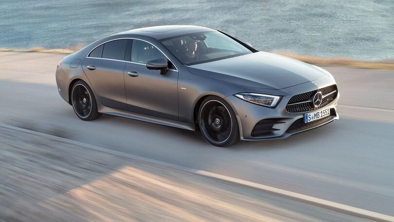 Mercedes CLS, il lusso in stile libero e ibrido
