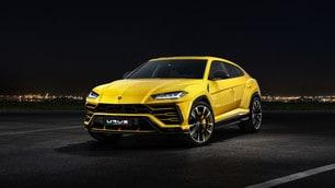 Lamborghini Urus, le foto ufficiali