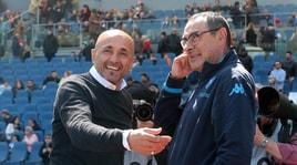 Napoli, Sarri punge:«Spalletti mi augura il settimo posto? Io spero in un'Inter ottava»