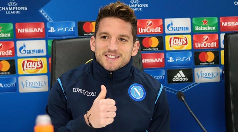 Napoli, Mertens: «Per passare il turno pronto a perdere i denti come nel 2012»