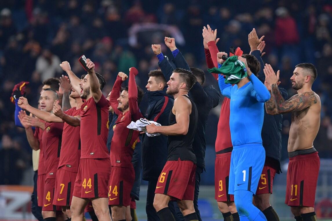 Roma, tutti sotto la Sud per festeggiare il primato!