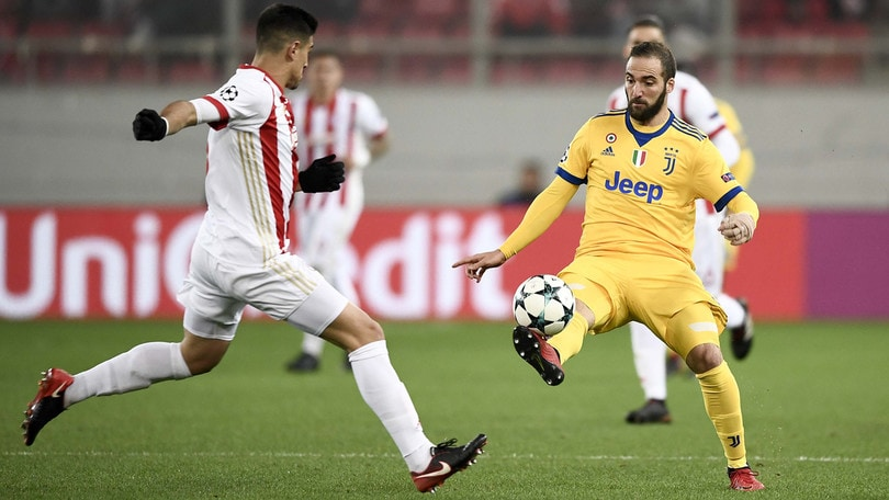 Champions League Olympiacos-Juventus 0-2, il tabellino