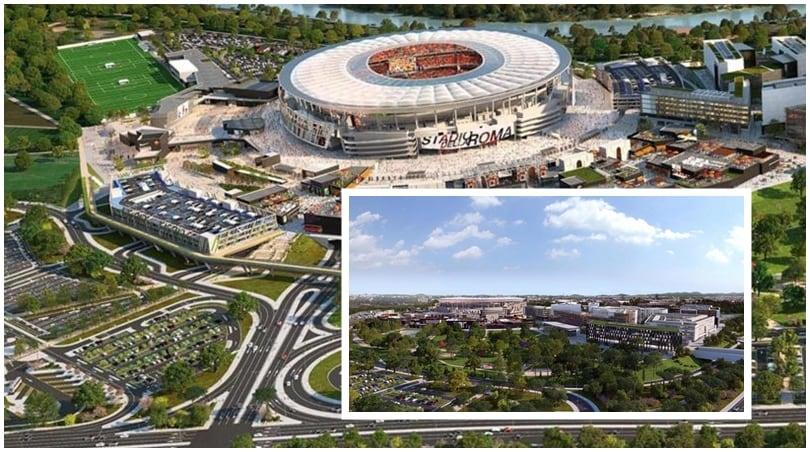 Ecco come sarà lo Stadio della Roma