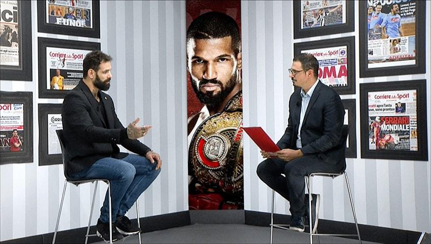 """Alessio Sakara: """"In prima fila contro il bullismo. La tv mi piace ma ora penso solo alla MMA"""""""