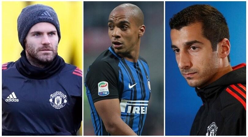 Joao Mario, Mata, Mkhitaryan: Inter-Mourinho, che intrigo!