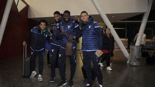 Lazio, riecco Felipe Anderson: sorrisi all'aeroporto di Lille