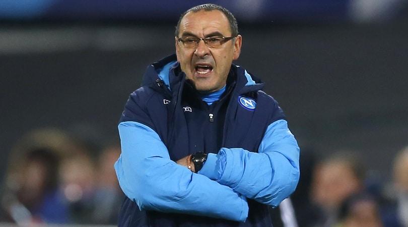 Napoli, Sarri: «Condizionati dal risultato del Manchester City»