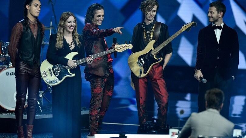 X Factor: dominano i Maneskin, Ros a quota eliminazione