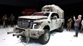 Nissan Titan AT-M6, il pick-up da Guerre Stellari