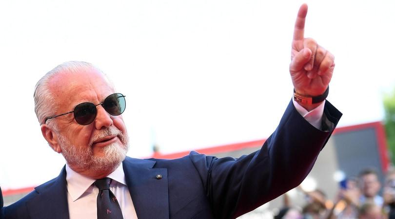 Napoli, De Laurentiis: «I primi si vedono alla fine»