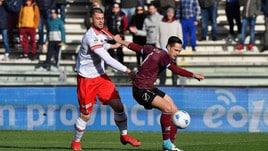 Salernitana-Perugia 1-1, Buonaiuto pareggia al 92'