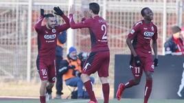 Cittadella-Avellino 2-2: doppietta di Laverone