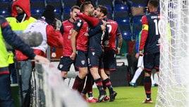 Cagliari-Sampdoria 2-2, Farias e Pavoletti firmano la rimonta