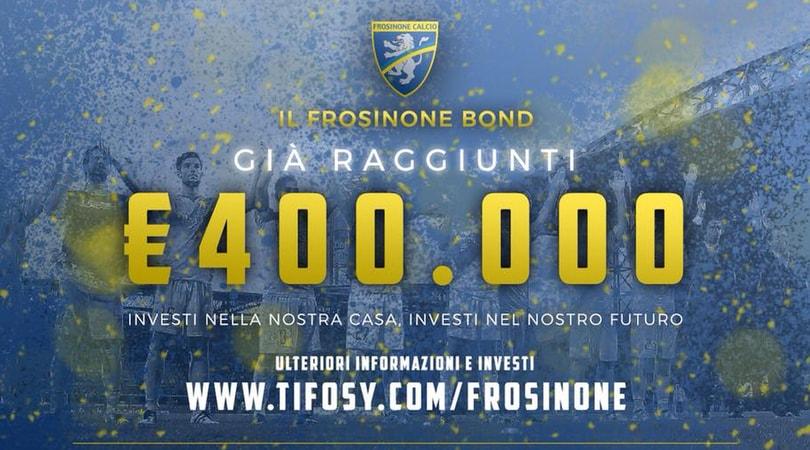 Il Frosinone si finanzia con i mini-bond: già raccolti più di 400 mila euro
