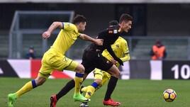 Chievo-Roma 0-0, prima da titolare per Schick