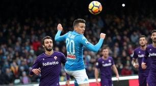 Napoli-Fiorentina 0-0, Spalletti resta in vetta