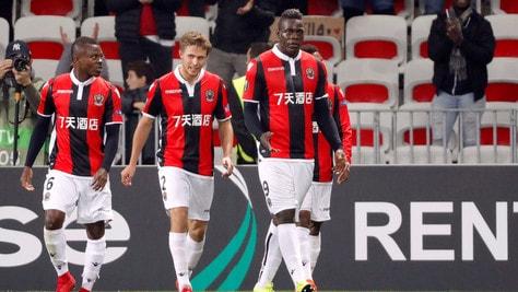Nantes-Nizza, Balotelli la ribalta