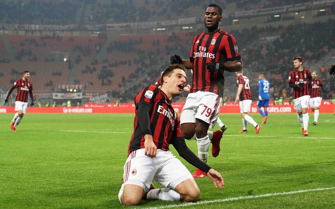 Serie A, Milan-Bologna 2-1: doppietta di Bonaventura