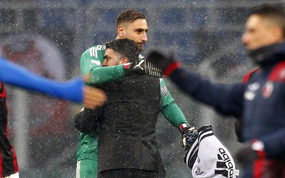 Gattuso: «Donnarumma tranquillo. Problemi? Ci pensa il Milan»