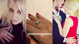 Wanda Nara, per i 31 anni da Icardi arriva l'anello con diamante