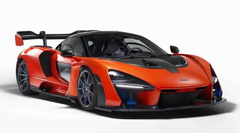 McLaren Senna, omaggio alla leggenda da 800 cv