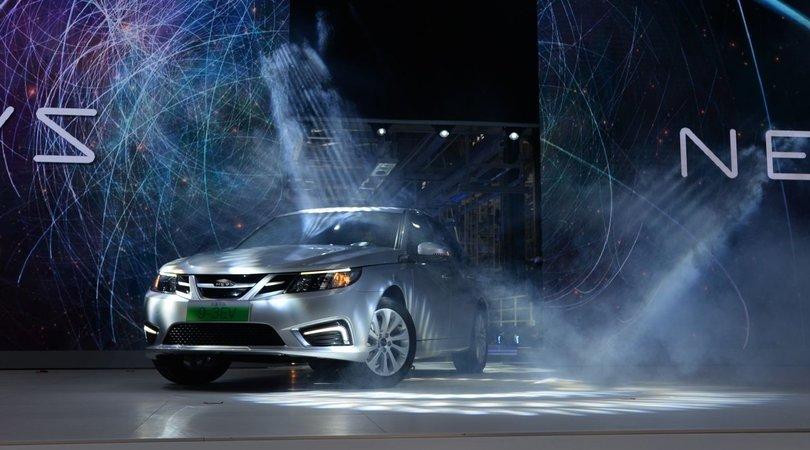 Nevs 9-3, la Saab risorge in versione elettrica