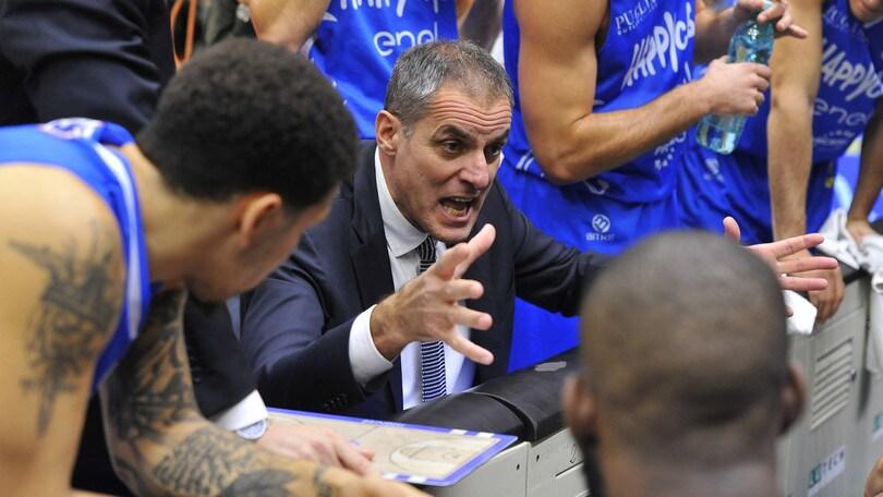 Basket Serie A, Brindisi esonera Dell'Agnello