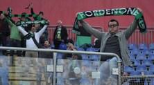 Pordenone, è pronta la festa: «Se battiamo l'Inter torniamo a piedi»
