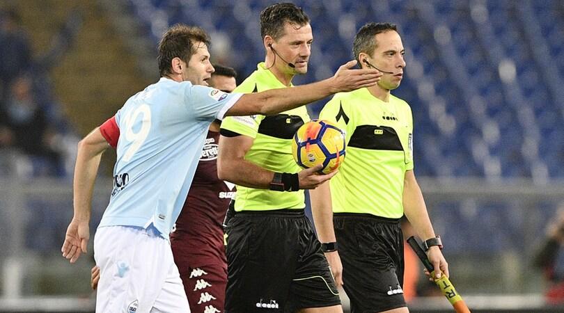 Moviola Lazio-Torino, Giacomelli choc: e il rigore?
