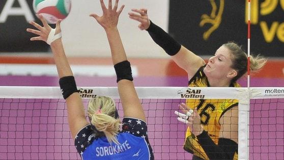 Volley: A1 Femminile, Sonja Newcombe rescinde con Legnano