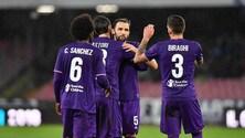 Coppa Italia: Fiorentina-Samp, viola avanti a 1,87