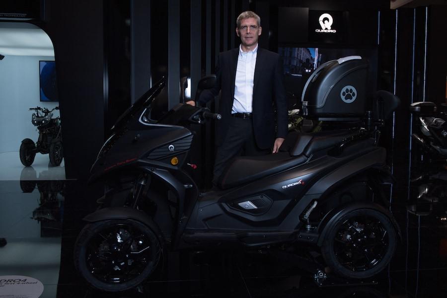 Quadro Vehicles, il quattro ruote che piega