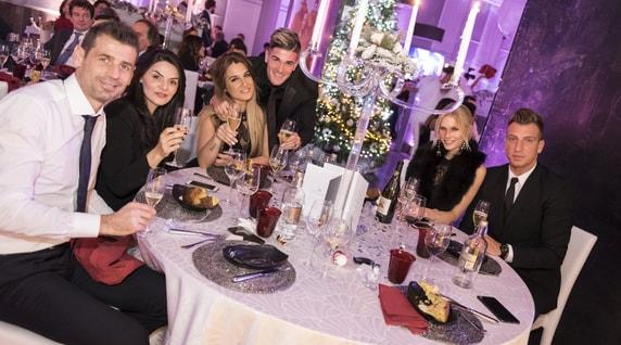 Udinese, anche le wags alla cena di Natale
