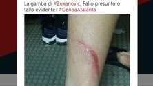 Serie A, il Genoa si lamenta: «C'era fallo su Zukanovic?»