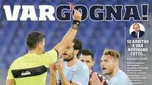Lazio, bufera sui social: l'hashtag #vargogna spopola