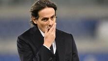 Lazio, Inzaghi: «Trasformiamo l'ingiustizia subita in ferocia»