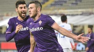 Fiorentina-Sampdoria 3-2, successo di rigore per i viola