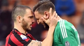 Milan, Donnarumma in lacrime dopo la contestazione